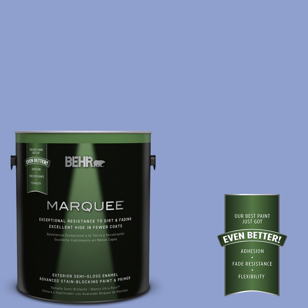 BEHR MARQUEE 1-gal. #600B-4 Pageant Song Semi-Gloss Enamel Exterior Paint