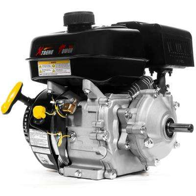 3/4 in  6 5 HP 3600 RPM Horizontal Shaft Gas-Powered OHV Manual Recoil  Start Engine