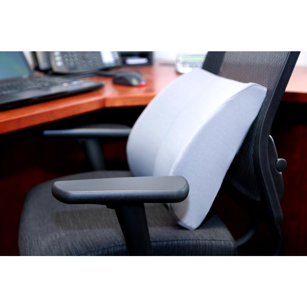 Relax-A BAC Lumbar Cushion with Insert in Gray