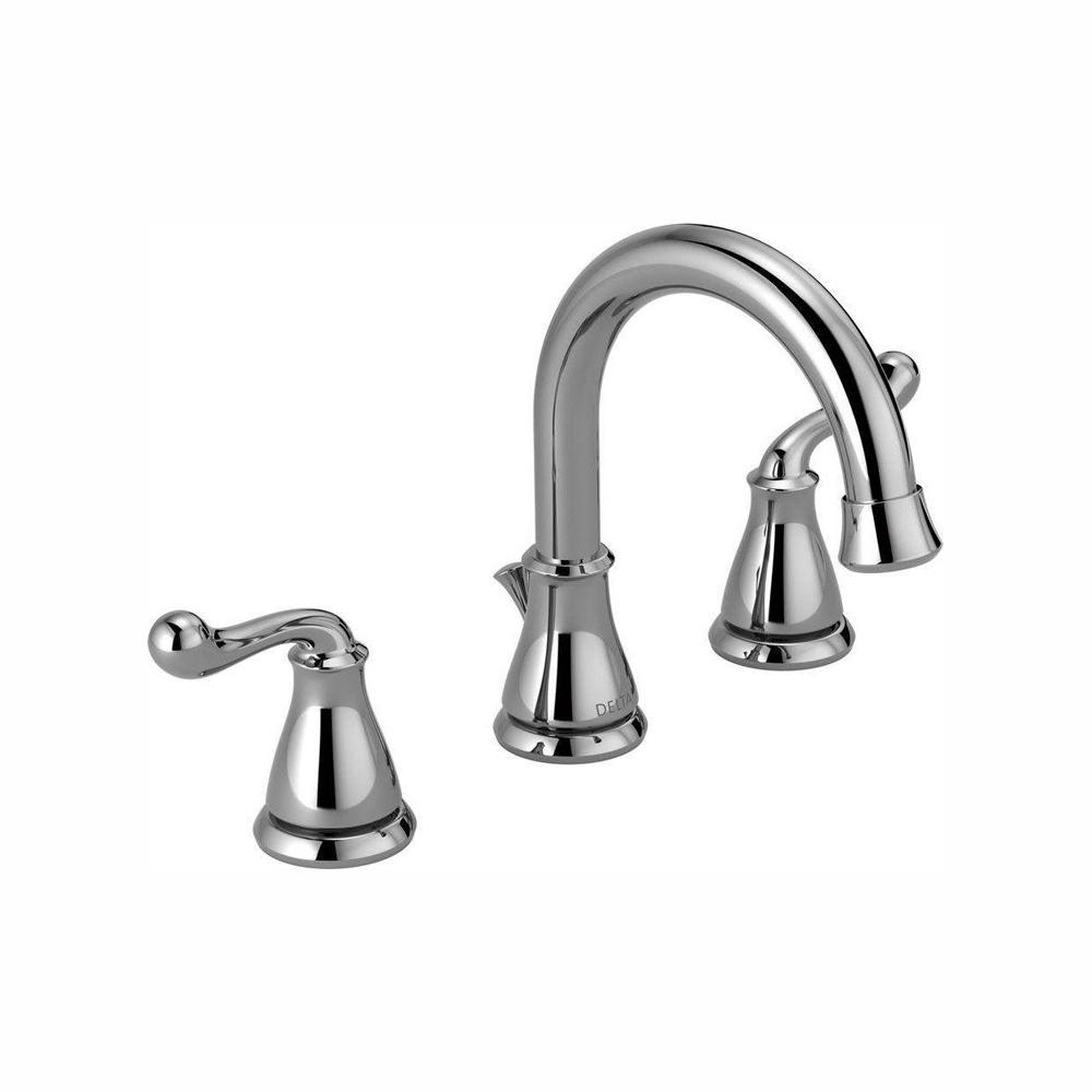 Delta Southlake 8 in. Widespread 2-Handle Bathroom Faucet in Chrome, Grey was $102.0 now $69.0 (32.0% off)