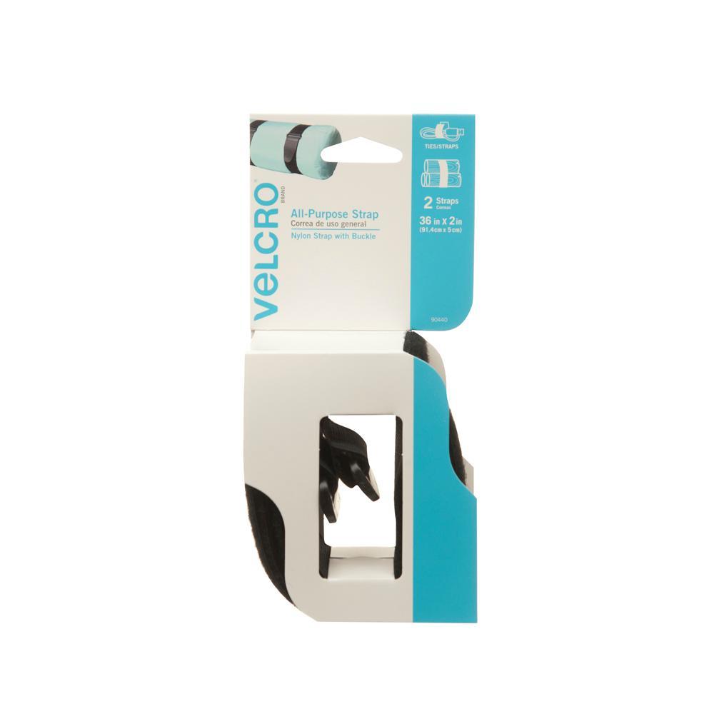 Velcro Brand 3 Ft X 2 In Velstrap Straps Pack