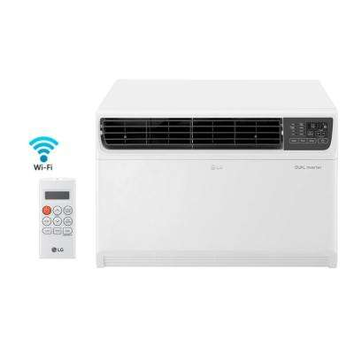 18,000 BTU Dual Inverter Smart Window Air Conditioner with WiFi Enabled and Remote