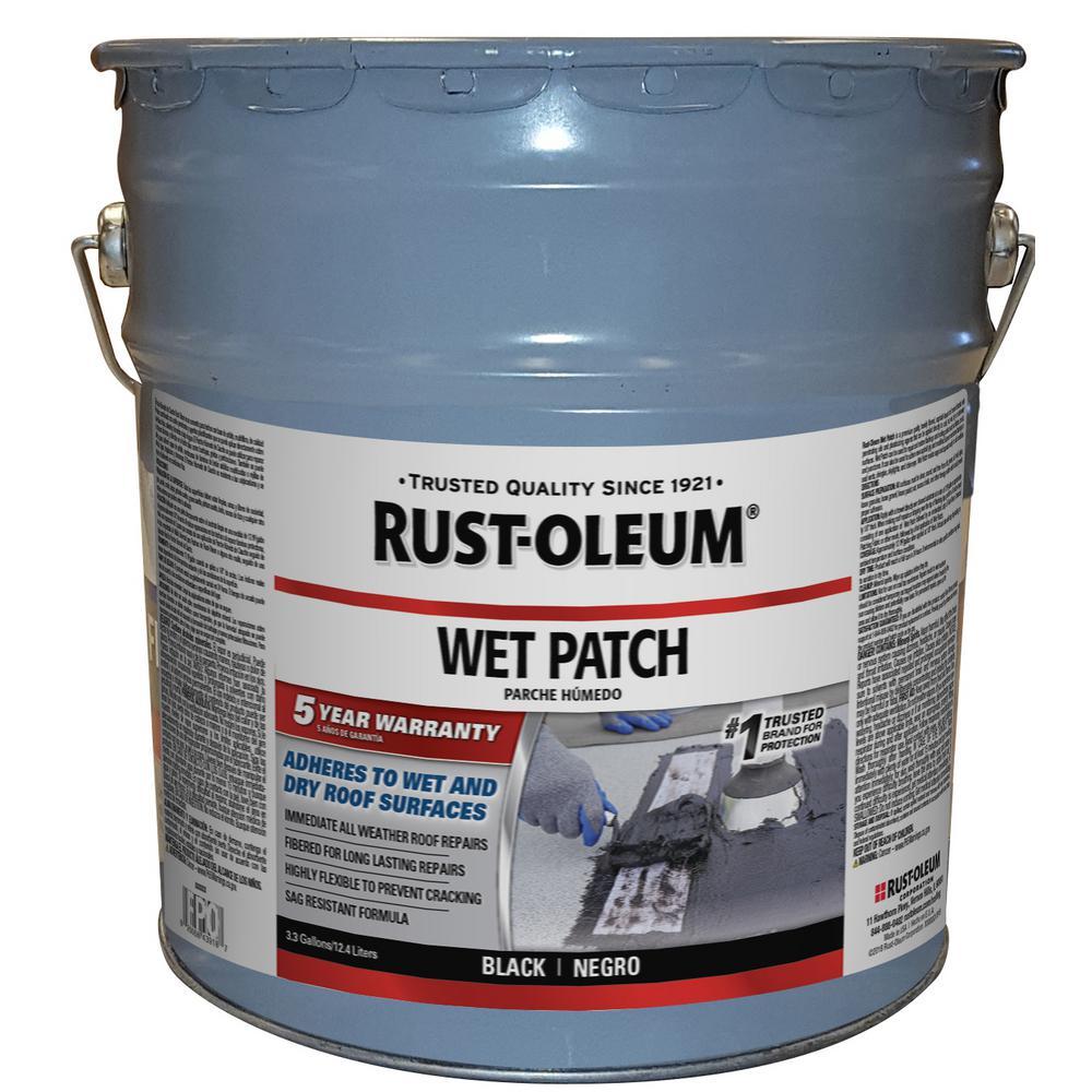 Rust-Oleum 3.3 Gal. Roof Wet Patch
