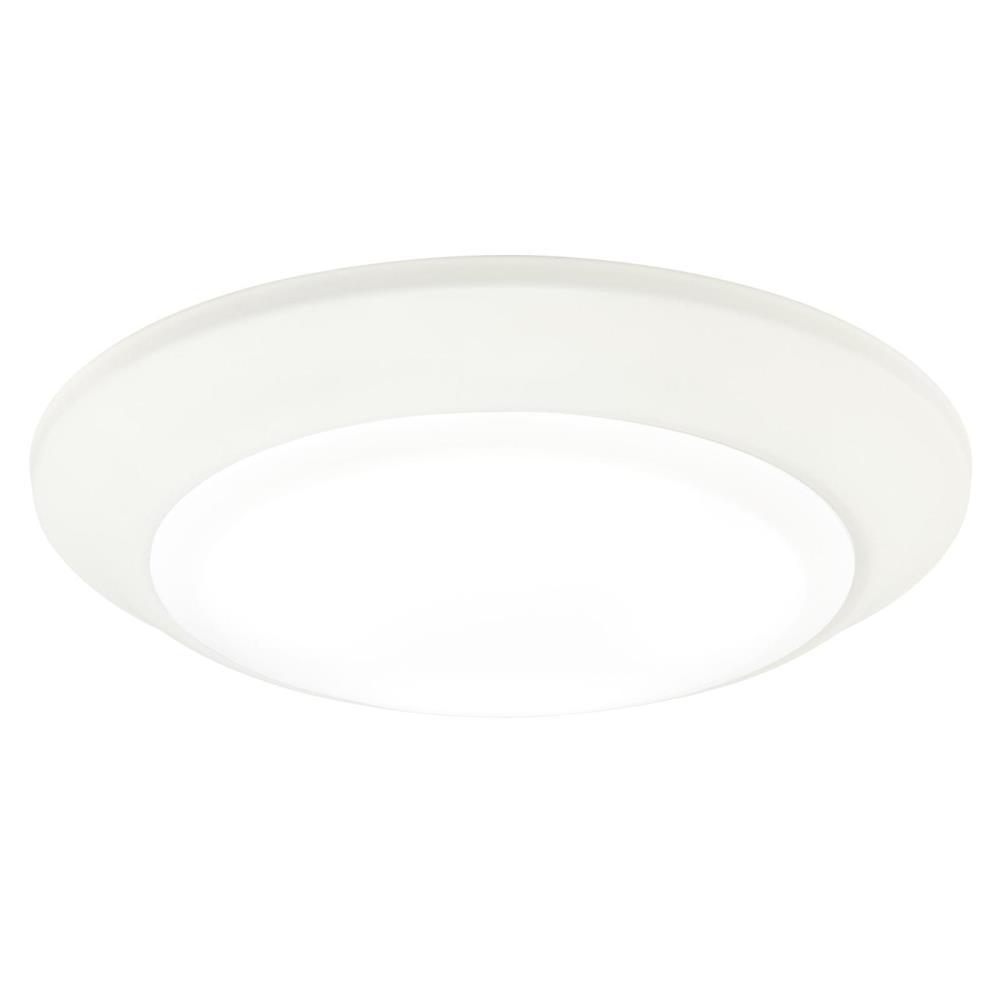75-Watt 7 in. White 5000K Indoor/Outdoor Integrated ENERGY STAR Dimmable LED Flush Mount