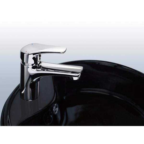 Delta Faucet Modern Single-Handle Bathroom Faucet with Drain Assembly Chrome 534LF-PP