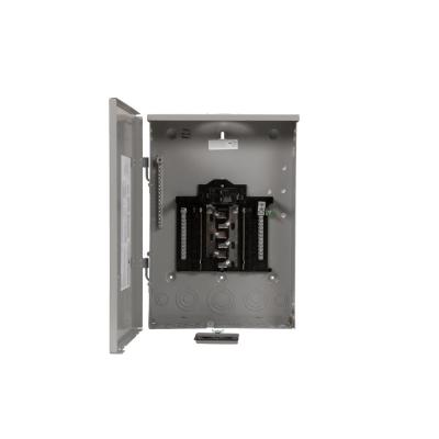 SN Series 100 Amp 12-Space 24-Circuit Main Breaker Plug-On Neutral Load Center Outdoor