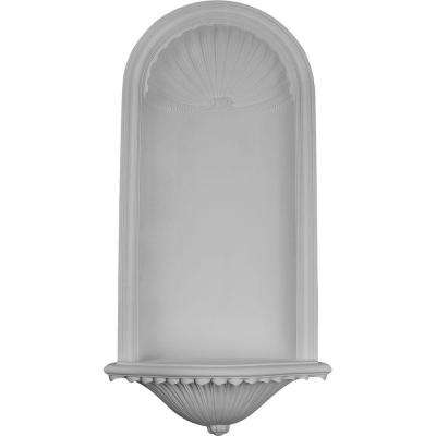 25 in. x 13-5/8 in. x 51-3/8 in. Primed Polyurethane Recessed Mount Artis Wall Niche