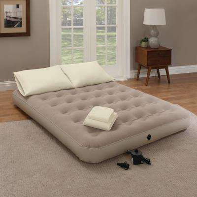 9in. Queen Air Mattress with Pump Included