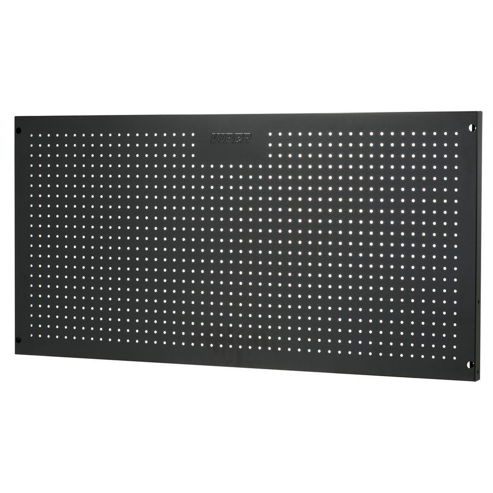 Viper Tool Storage 24 in. x 48 in. Peg Board in Black