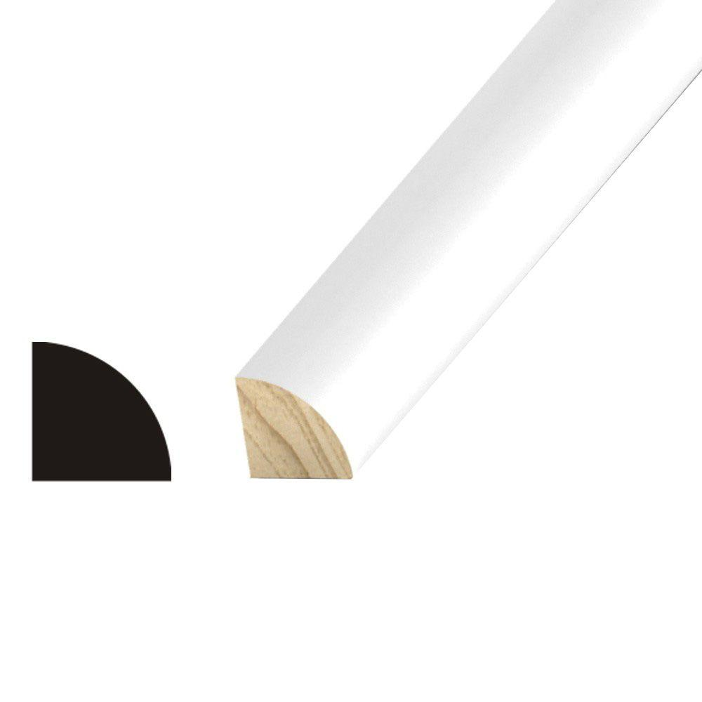 null 3/4 in. x 3/4 in. Pine Primed Quarter Round Moulding