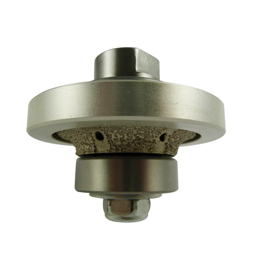 1/4 in. Radius Diamond Hand Profiler/Router Bit for Granite/Concrete