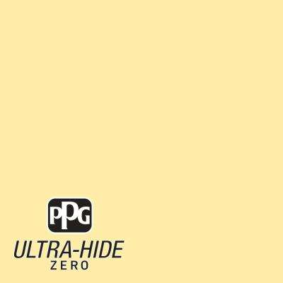 1 gal. #HDPY42 Ultra-Hide Zero Buttercup Eggshell Interior Paint