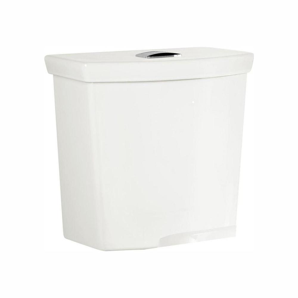 American Standard H2Option 0.92/1.28 GPF Dual Flush Toilet Tank Only with Liner in White