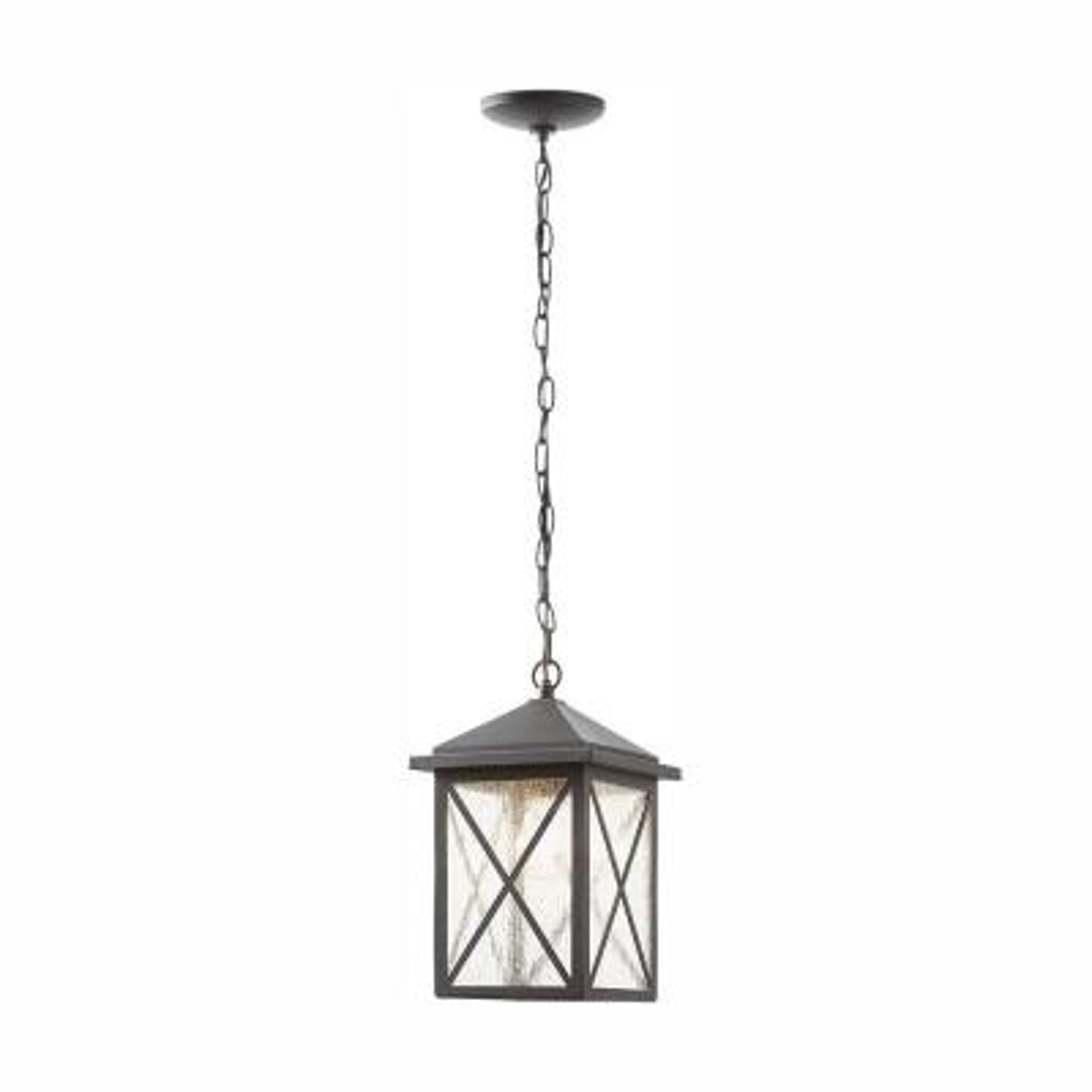 Wythe Black 1-Light Outdoor Hanging Lantern