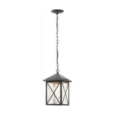 Wythe Black 1-Light Outdoor Hanging Lantern