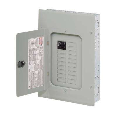 BR 100 Amp 32-Circuit Indoor Main Breaker Plug-On Neutral Load Center