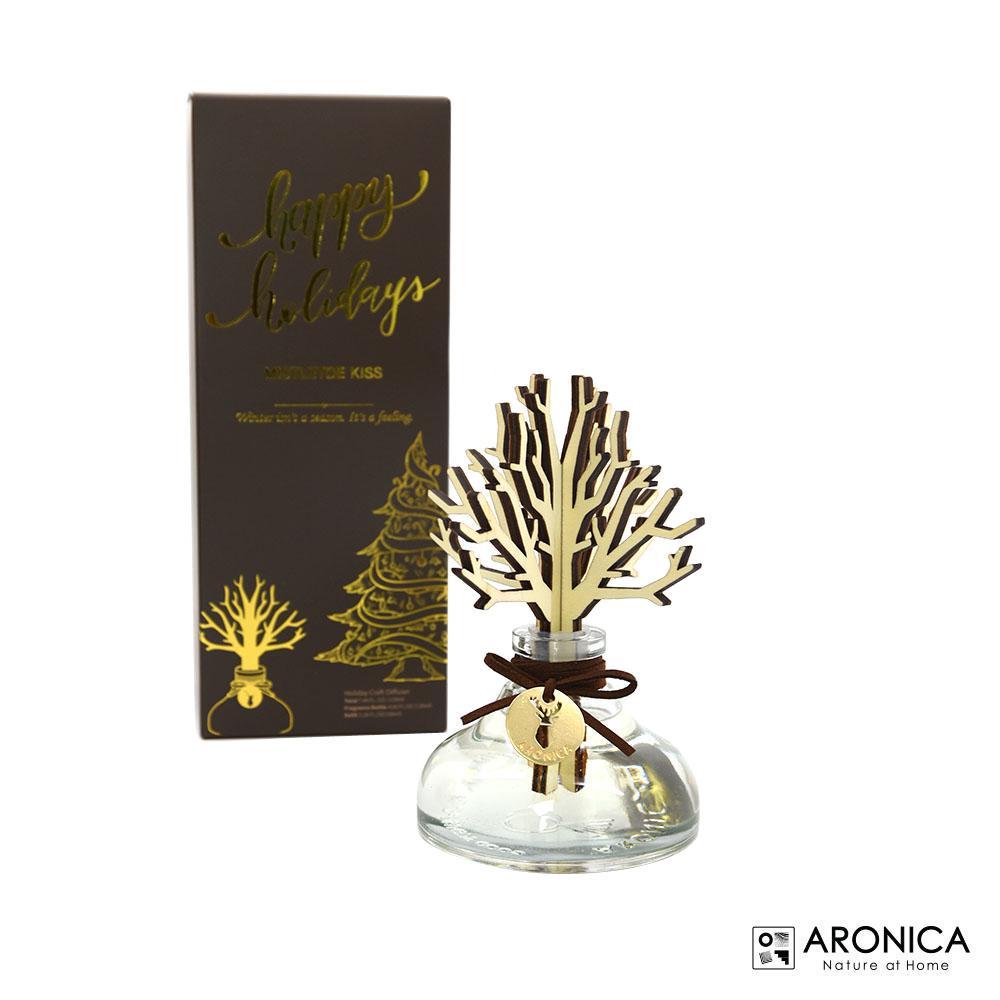 4.06 oz. Mistletoe Kiss Wood Craft Oil Diffuser