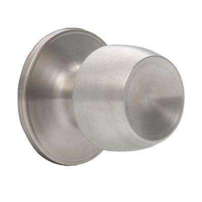 Brandywine Stainless Steel Passage Hall/Closet Door Knobset