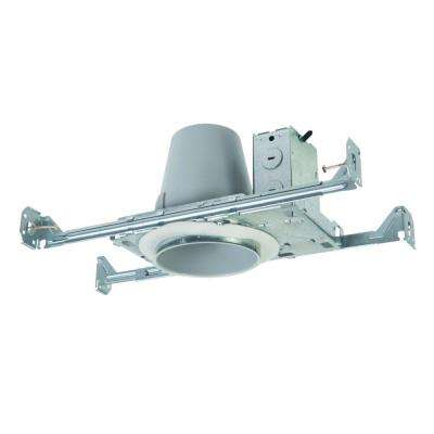 E26 4 in. Steel Recessed Lighting Housing for New Construction Ceiling, Non-IC, Air-Tite with Adjustable Socket Bracket