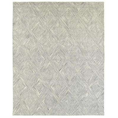 Integrity Wounded Warrior Donator Gray 7 ft. 9 in. x 9 ft. 9 in. Indoor Area Rug