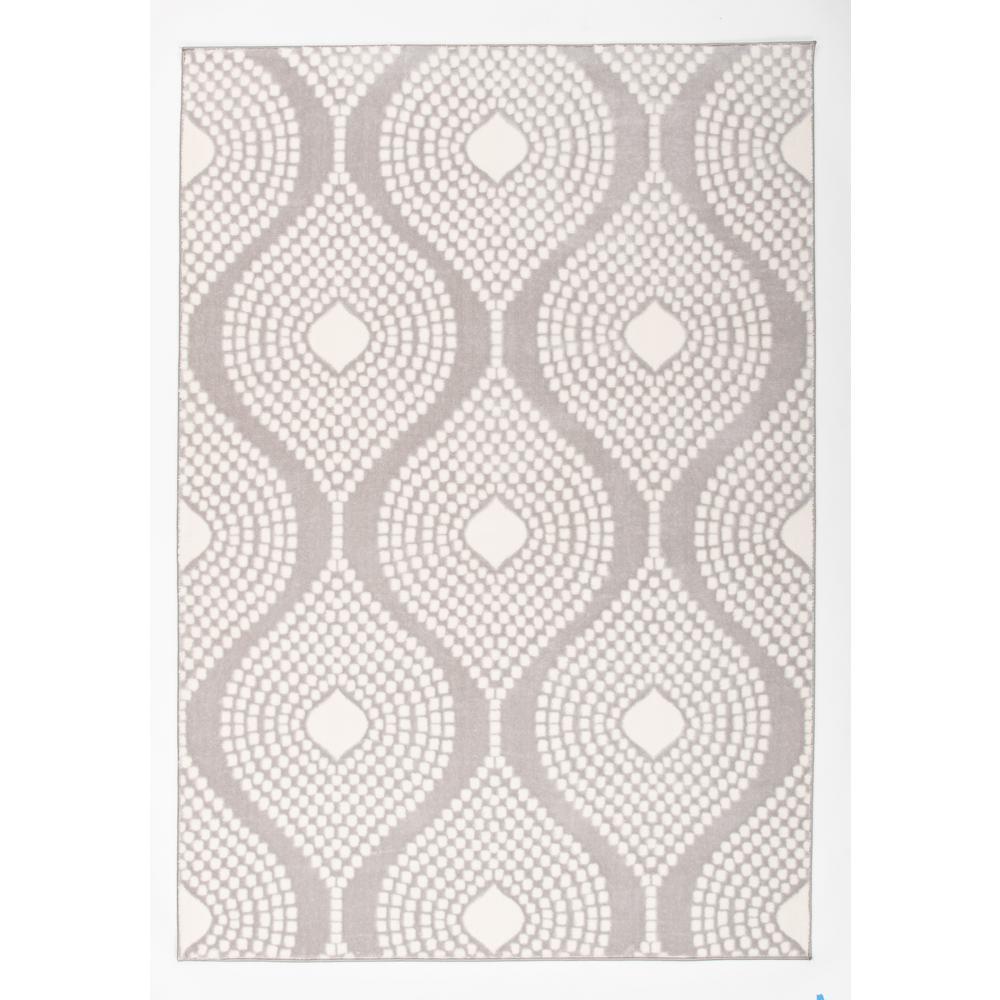 Contemporary Trellis Design Ultra Soft Area Rug