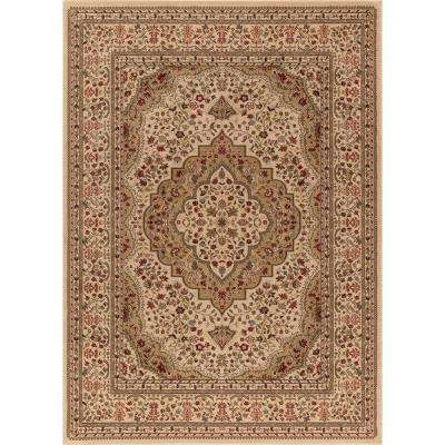 Ankara Kerman Ivory 7 ft. x 10 ft. Area Rug