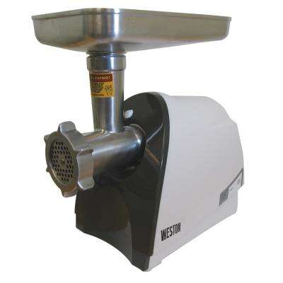 #8 Meat 575-Watt Grinder and Sausage Stuffer