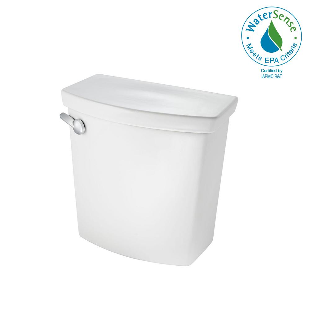 H2Optimum 1.28/1.6 GPF Dual Flush Toilet Tank Only in White