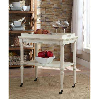 Frisco Tray Table in Antique White