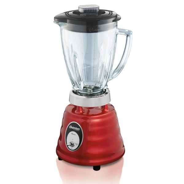 Oster Beehive 48 oz. 2-Speed Metallic Red Blender 004270-615-NP0