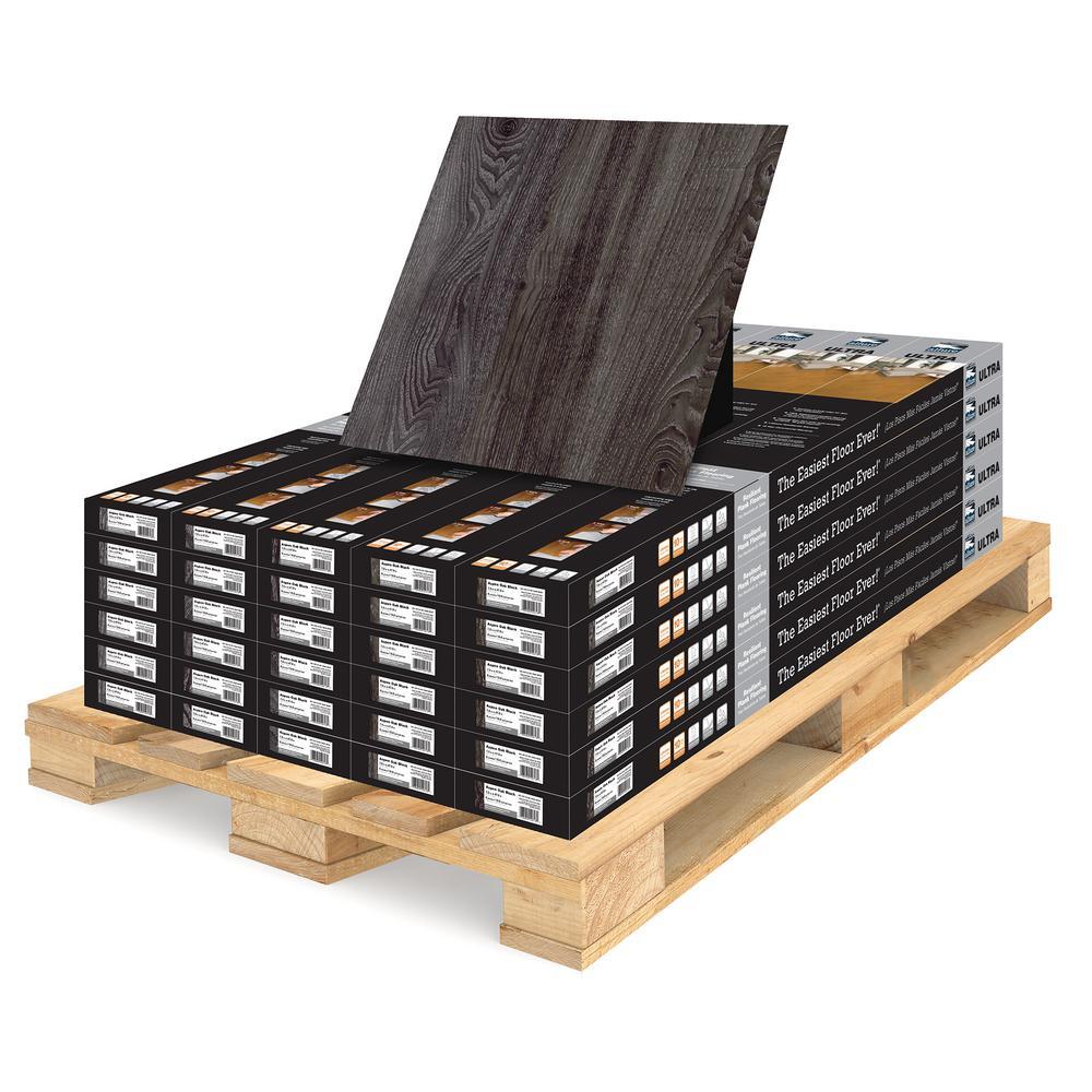 Allure Ultra 7.5 in. x 47.6 in. Aspen Oak Black Luxury Vinyl Plank Flooring (594 sq. ft. / pallet)