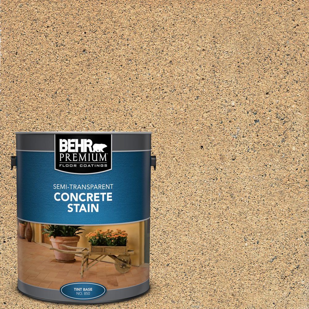 1 gal. #STC-10 Desert Flagstone Semi-Transparent Flat Interior/Exterior Concrete Stain