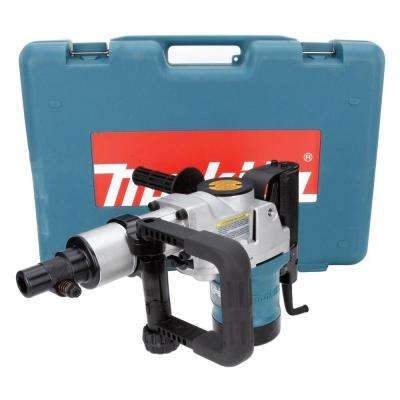 11 Amp 2 in. Corded Spline Shank Concrete/Masonry Rotary Hammer Drill with Side Handle, D-Handle and Hard Case