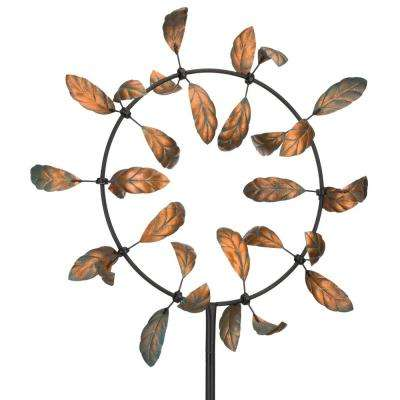 33 in. Vortex Kinetic Stake - Leaves