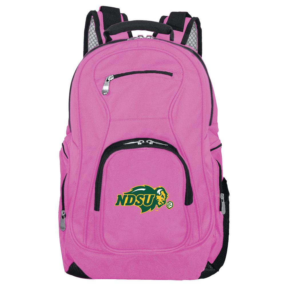 NCAA North Dakota State Bison 19 in. Pink Backpack Laptop