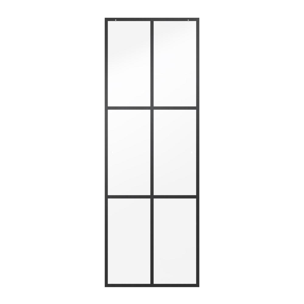 Delta 23-17/32 in. x 67-3/4 in. x 1/4 in. Frameless Sliding Shower Door Glass Panels in Ingot (1-Pair for 44-48 in. Doors)