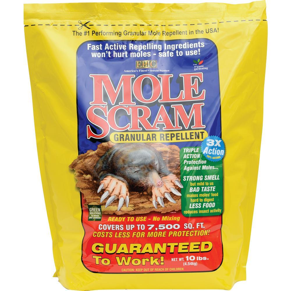 10 lbs. Granular Mole Repellent Bag