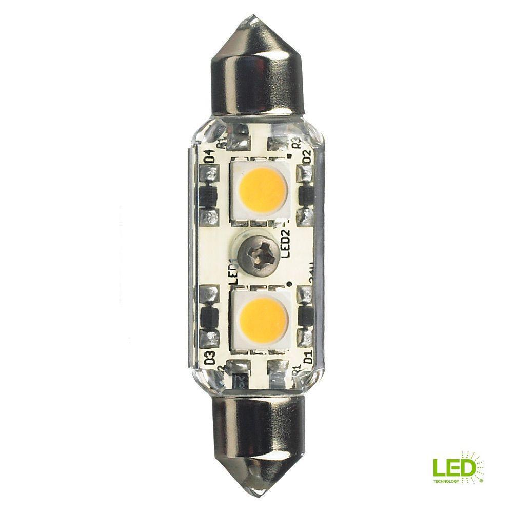 Lbl Lighting Ambiance 12 Volt Led Clear Festoon Lamp 4000k 96119s