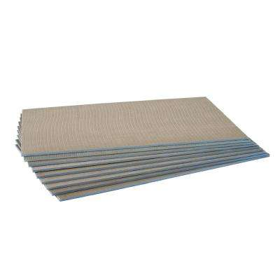 Dural tiLite 32 in. x 48 in. x 1/2 in. Foam Backer Board Underlayment (Package of 9 - 96 sq. ft.)
