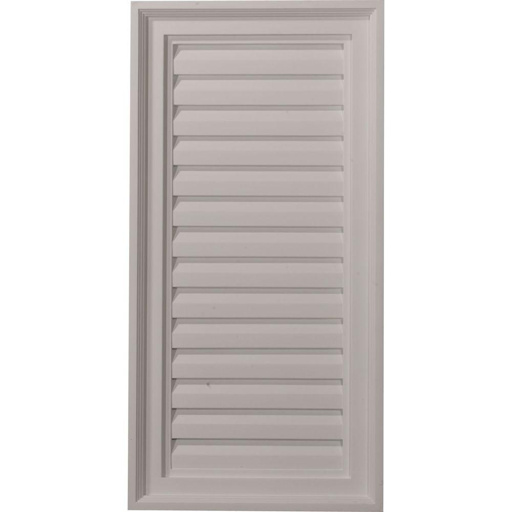 2 in. x 15 in. x 30 in. Decorative Vertical Gable