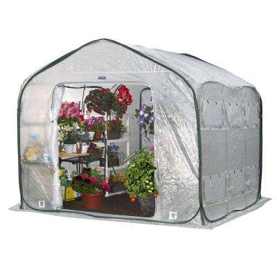 FarmHouse 9 ft. x 9 ft. Pop-Up Greenhouse