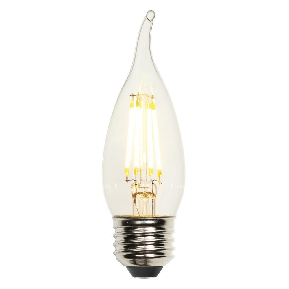 Westinghouse 40w Equivalent Amber St20 Dimmable Filament: Westinghouse 40W Equivalent Soft White CA10 Dimmable