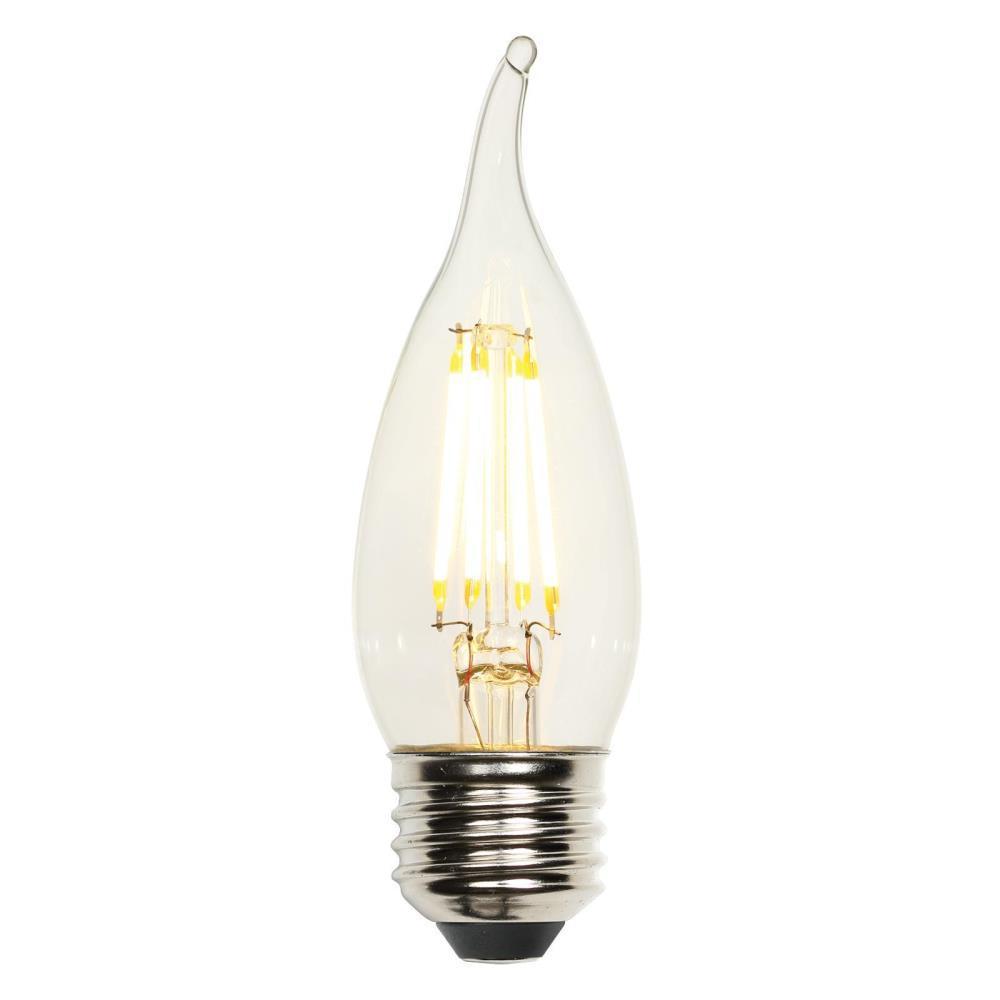 40w Equivalent Soft White Vintage Filament A19 Dimmable: Westinghouse 40W Equivalent Soft White CA10 Dimmable