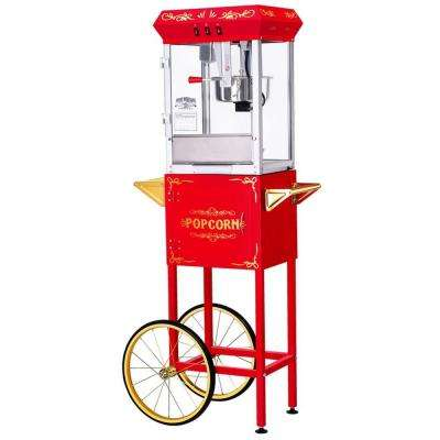 All-Star 8 oz. Popcorn Machine and Cart