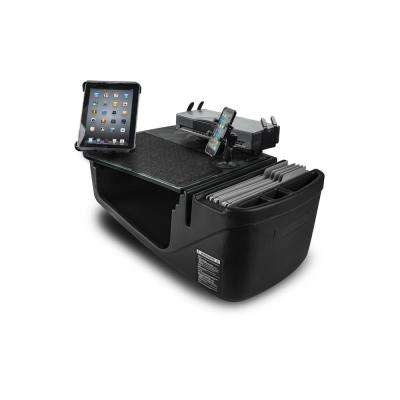 Efficiency GripMaster Car Desk Green Camo w/ Built-in Power Inverter, Printer Stand, X-Grip Phone Mount & Tablet Mount