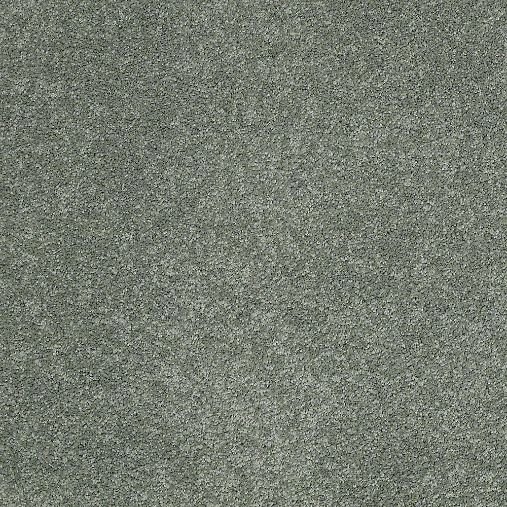 Coral Reef I - Color Breezy Sage Texture 12 ft. Carpet