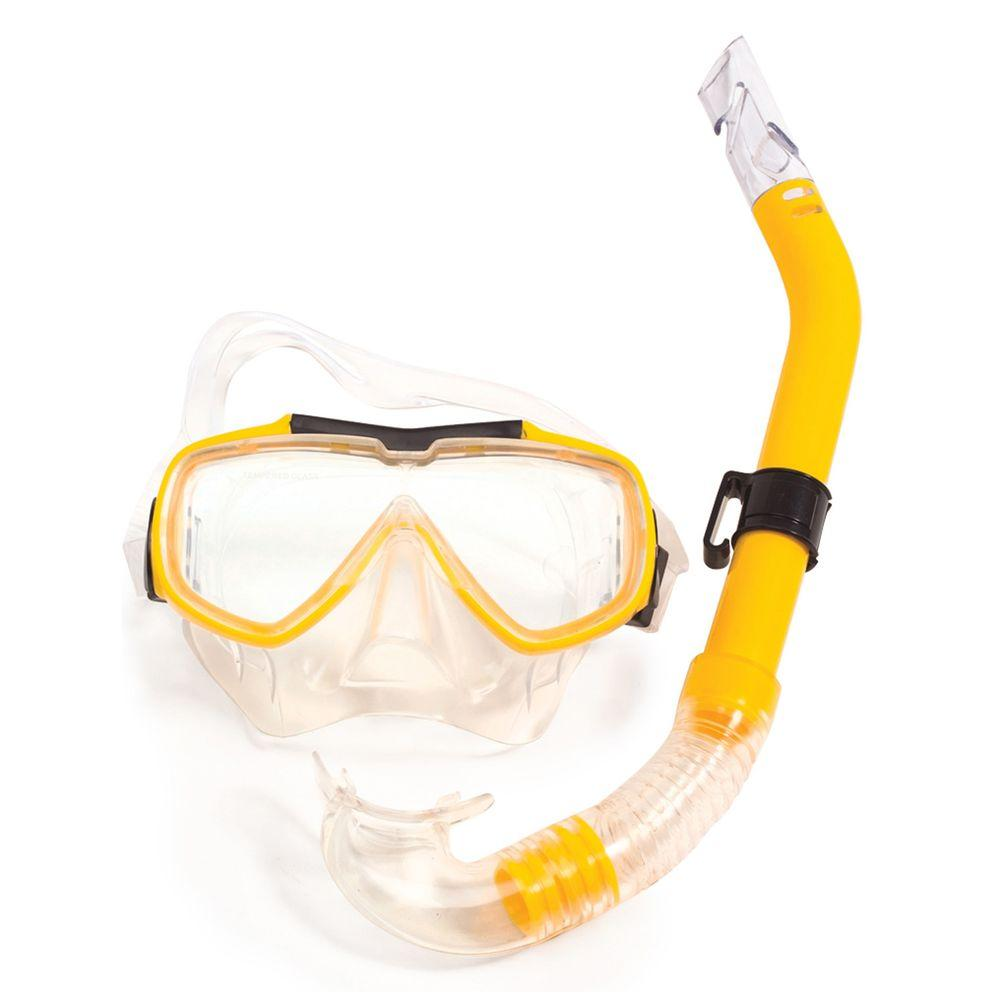 Poolmaster Yellow Baja Adult Swim Set