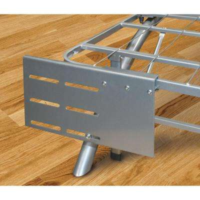 Dome Arc Silver Headboard and Footboard Brackets