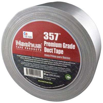 2.83 in. x 60.1 yds. 357 Ultra Premium Silver Duct Tape