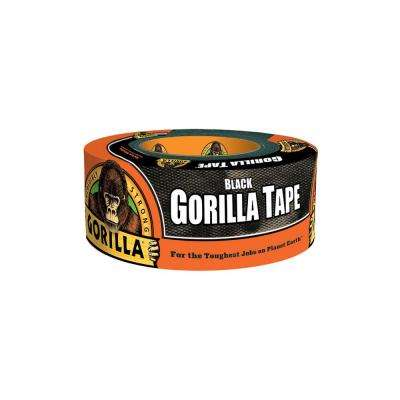 1.88 in. x 12 yd. Black Tape